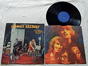 """Creedence Clearwater Revival LP Cosmo's Factory - Fantasy Records 1970 - John Fogerty - """"Who'll Stop The Rain"""" """"Lookin' Ou..."""