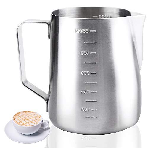 La Mejor Lista de Jarras para vaporizar leche que Puedes Comprar On-line. 2