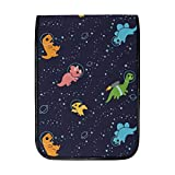 iPad Pro 12.9 Portable Carrying Protective Cover for 12' Chromebook Waterproof Protective Handbag Black Dinosaur Space Laptop Sleeves Fashion Case Bag Scratchproof Tablet Bags