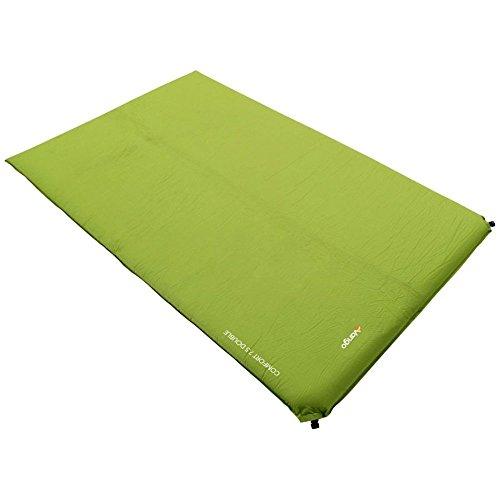 Vango Comfort 7.5 Insulated Double Sleeping Mat, Green, One Size