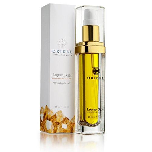 Oridel Liquid Gem Regenerating Face Oil With Argan Oil and Sea Buckthorn