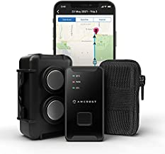 Amcrest GPS GL300 GPS Tracker for Vehicles (4G LTE) - Portable Mini Hidden Real-Time GPS Tracking Device for Vehicles, Cars, Kids, Assets, Text/Email/Push Alerts, with Twin Magnet Weatherproof Case