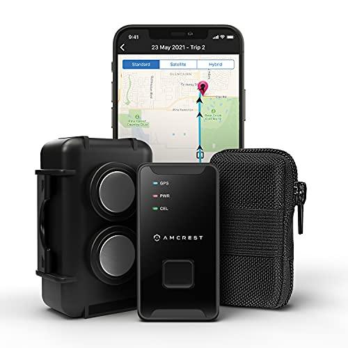 Amcrest GPS GL300 GPS Tracker for Vehicles (4G LTE) -...