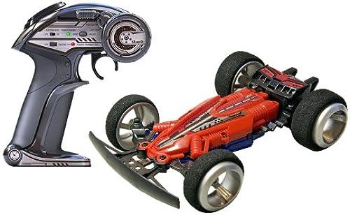 82333 Silberlit 3D Twister ferngesteuert 2.4GHz Rennwagen mit Sprungrampe und Ersatzreifen, farblich sortiert