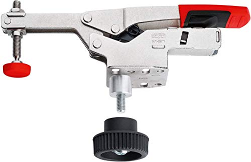 Bessey STC-HH70-T20 Waagrechtspanner mit waagerechter Grundplatte STC-HH/60 mit Zubehör-Set
