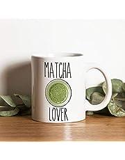 te Amo Tanto Taza Matcha Regalo T/é Matcha Taza de t/é Verde Taza de caf/é Taza Regalos Regalos de Matcha Taza de Fan de Matcha N\A Taza Matcha Lover Oh