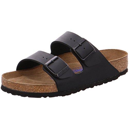 Birkenstock Arizona Sandale für Damen in Schwarz, Synthetik, Größe 37 - R 051791