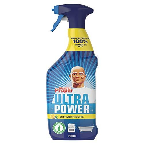Meister Proper Ultra Power Allzweckreiniger (700 ml) Citrusfrische, Entfernt bis zu 100 {67e614eed53c6d899cf438d96f7f4b88787dfa49b2a8605e6fa76d0fd2b8db59} Schmutz und Fett