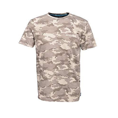 Regatta Herren Arbeitsshirt Tactical Threads mit Camouflage-Druck, Dense T-Shirts/Polos/Jacken Herren M Rock Grey Marl