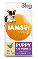 Puppy food for small and medium breeds with up to 85 percent of animal protein to support seven signs of healthy vitality Wheat free pet food with no fillers, artificial colours, flavours or GMOs Antioxidant blend with Vitamin E to help support the i...