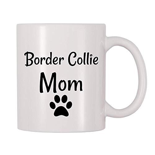VTYOSQ Border Collie Mom Coffee Mug (11 oz)