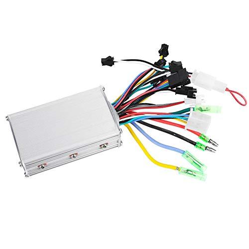 Weikeya Controlador de Motor, Motor sin escobillas sin escobillas eléctrico de 8 cm / 3.15 Pulgadas con plástico y LCD y Metal 36V