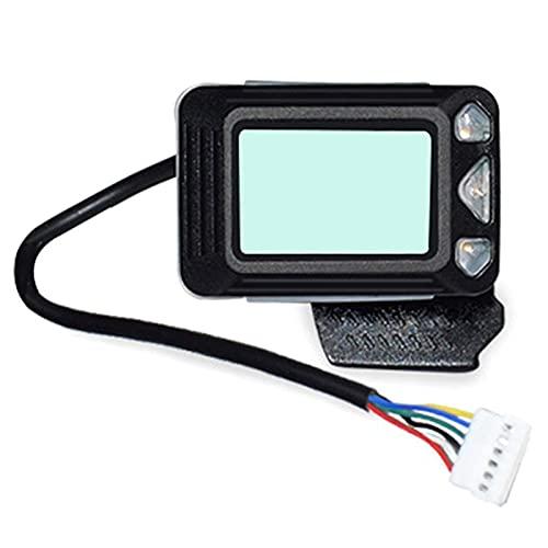 Baalaa para JACKHOT Scooter eléctrico Instrumento pantalla interruptor acelerador 24 V para 5.5 pulgadas JACKHOT Scooter piezas