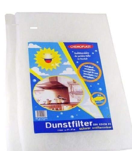 Universal Dunstabzugshaube Schaum Fett-Filter /& Kohlegrau Filter 57 X 47cm
