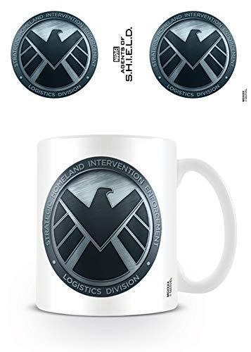 Desconocido Agents of Shield - Taza Shield, 320 ML