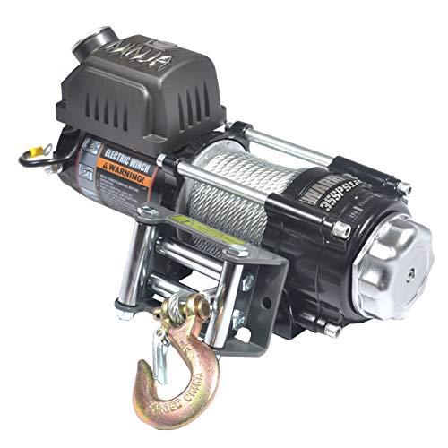 Warrior WW35SPS24 ATV/UTV Quad Elektrische Seilwinde Ninja 3500LB 1,6 t 24 V