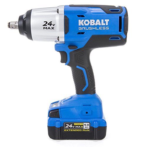 Kobalt 24-Volt Max-Volt 1/2-in Drive Cordless Impact Wrench (Tool Only, Battery/Charger Not Included)