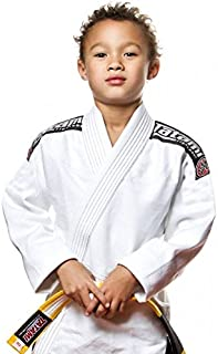 Kids White Nova Ju Jitsu Gi - W/Free White Belt