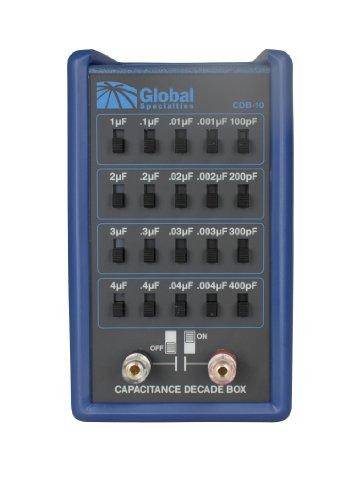 Global Specialties CDB-10 Capacitance Decade Box