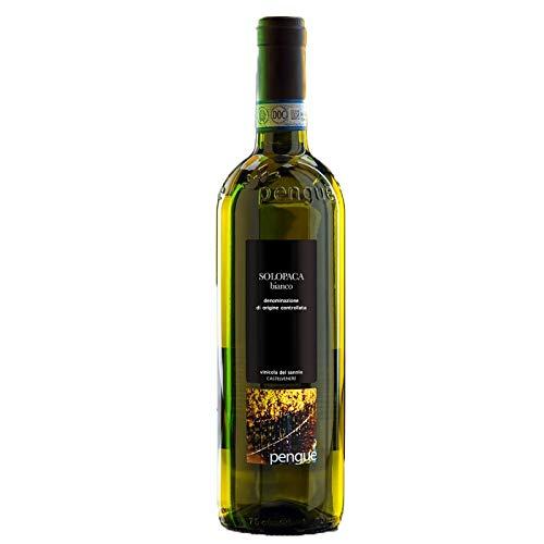 Vino Solopaca Sannio D.O.P. PENGUE bianco - Vinicola del Sannio - Cartone da 6 Pezzi
