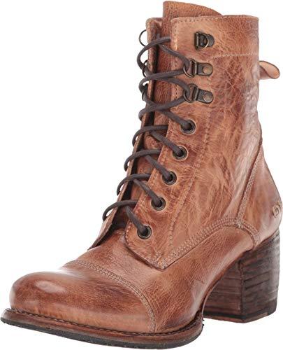 Bed Stu Women's Judgement Leather Boot (9.5, Tan Rustic)
