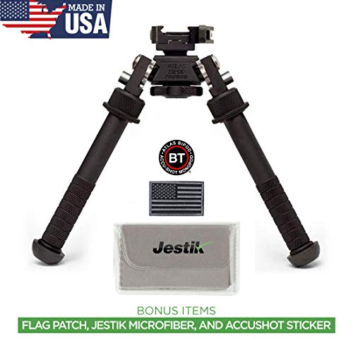 Accu-Shot Atlas Bipod BT10-LW17 with ADM 170-S Lever Plus USA