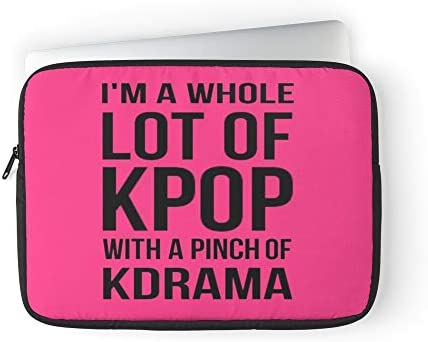 Simple I Addict Pink Lifestyle Love Kpop Stuff Laptop Sleeve Case Cover Handbag for MacBook product image