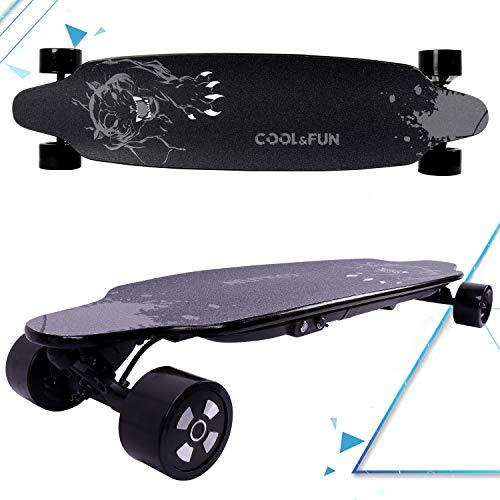MARKBOARD Longboard Elektro Skateboard E Skateboard, Longboard LG-accu met afstandsbediening