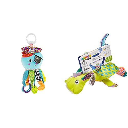 Lamaze Baby Spielzeug Captain Calamari, die Piratenkrake Clip & Go, Hochwertiges Kleinkindspielzeug & Baby Spielzeug Diego, der Fliegende Drache Clip & Go, Hochwertiges Kleinkindspielzeug