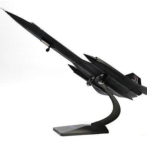 DAYUFEI Flugzeugmodell US Air Force Sr-71 Blackbird Reconnaissance Aircraft Alloy Modell Sr71 1:72 Flugzeugmodell aus Metalldruckguss