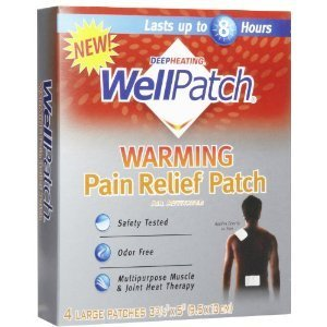 Wellpatch Warming Pain Relief Patch (3 Pack X 4)