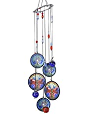 YU FENG Wind Chimes Outdoor Decor,Metal Memorial Windchimes,Tree of Life Sympathy Wind Chimes Gifts for Garden Home Yard Hanging Decor(Life Tree)