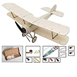 K6 KIT / Electronic Sopwith Pup RC Plane Balsa Wood 378mm Warbird Aircraft Kit with Brushless Power System Aeromodelling Kit - Wood
