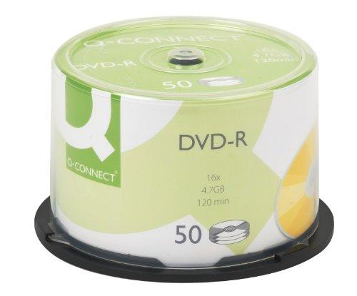 Q-Connect DVD-R Cakebox kf15419Lot de 50