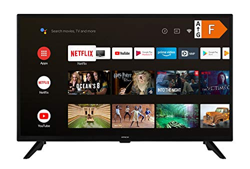 HITACHI FA32E4250 32 Zoll Fernseher Android Smart TV (Play Store & Google Assistant, Full HD, Triple-Tuner, PVR)