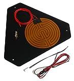 Emotion-Tech 3760071110011 Kit plateau chauffant pour Micro Delta Rework, Aluminium, Noir