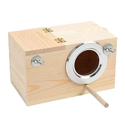 Hamiledyi Parakeet Nesting Box,Natu…