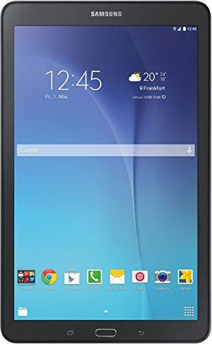 Samsung Galaxy Tab E 9.6 24,34 cm (9,6 Zoll) Einsteiger Tablet (1,5 GB RAM, 8 GB Interner Speicher, 3G/UMTS, Android 4.4) schwarz