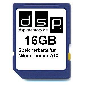 16GB Speicherkarte für Nikon Coolpix A10