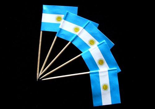 Everflag Zahnstocher : Argentinien 50er Packung