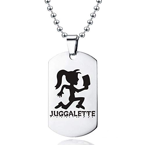 Sping Jewelry His and Hers Hatchet Boys Girls Juggalo Juggalette Runner Tag Pendant Necklace
