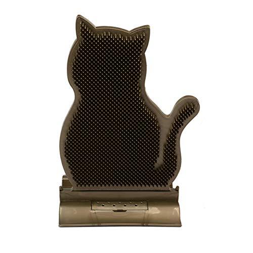 LIDEBLUE Katzenbürste mit Kathip, Haustier-Massagebürste, Spielzeug für Katzen und Hunde, weicher Kratzer, Haarschneidebürste für Tierhaarpflege, Kamm
