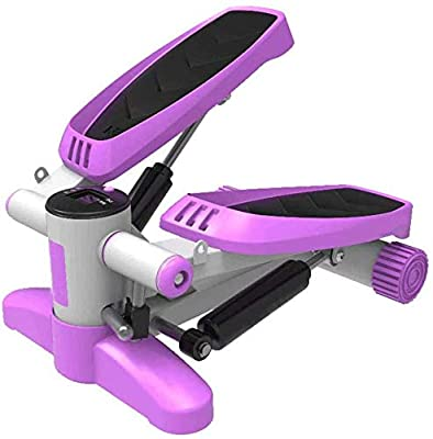 WTTO Mini Stepper, Sports Stepper Suitable for Sports, Stair Stepper for Chest and arm Muscles, Suitable for All Ages,Purple_36.52217cm