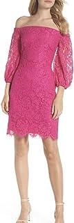 فستان دانتيل للنساء من ترينا ترك بتصميم أزول بدون كتف