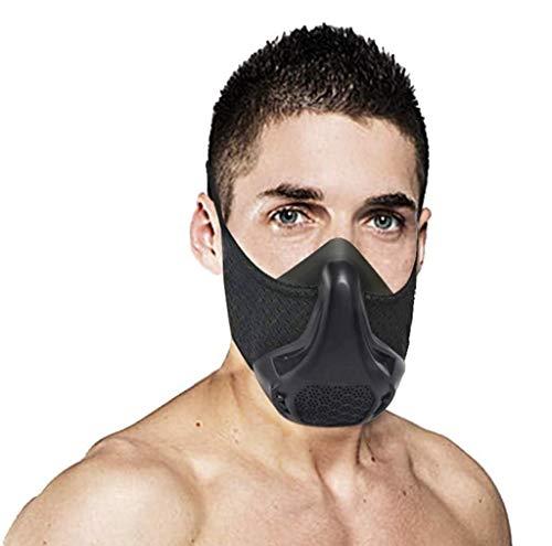 Training Mask Sport Vital Capacity Running 24 Breathing Resistance Levels Training Mask Fitness Mask High Altitude Running Resistance Breathing Oxygen Adult Mask