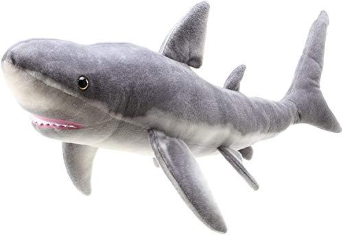 VIAHART ( ビアハート )【 Tiger Tale Toys ( タイガーテールトイズ )】 ホオジロザメ サメ ぬいぐるみ リアル 37インチ ( 93㎝ ) シャーク さめ 水族館 鮫 【日本正規品】