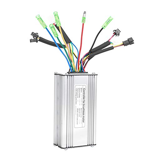 EBike Conversion Controller, 22A 9Tube 36/48V KT22A All Normal Heads Rectangular Controller Electric Bicycle Controller, EBike Controller