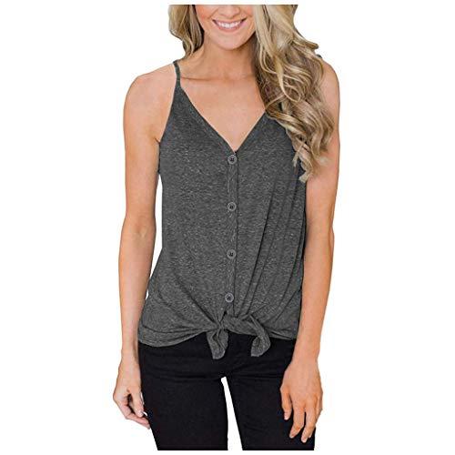 ELECTRI Débardeur de Sport Femme Large Dos Nu Vêtement de Sport Femme Vest T-Shirt pour Yoga Fitness Running Dance