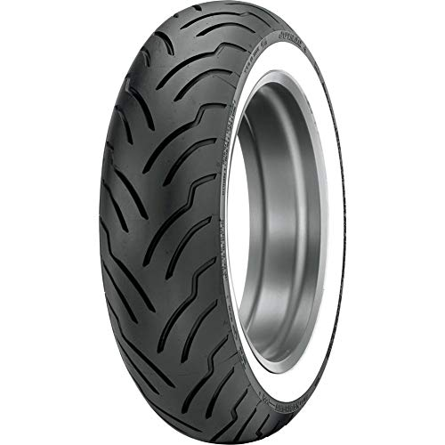140/90B-16 (77H) Dunlop American Elite Rear Motorcycle Tire Wide White Wall - Fits: Victory Judge 2013-2014 -  33AE-46