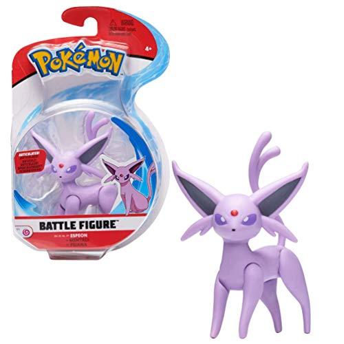 Wicked Cool Toys Pokemon Battle Feature Figur Espeon
